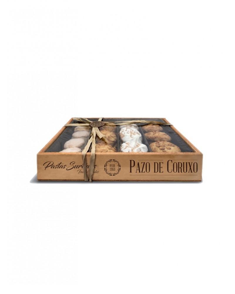 Pastas surtidas tradicionales Pazo de Coruxo